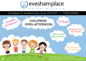 EDPD Childrens FLYER Evesham Place Dental Stratford-upon-Avon