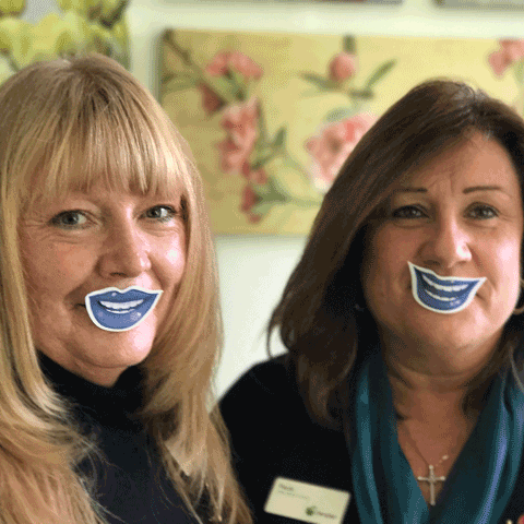 Reception BlueLips Cancer Evesham Place Dental Stratford-upon-Avon