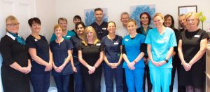 Evesham Place Dental Stratford-upon-Avon Team in recpetion