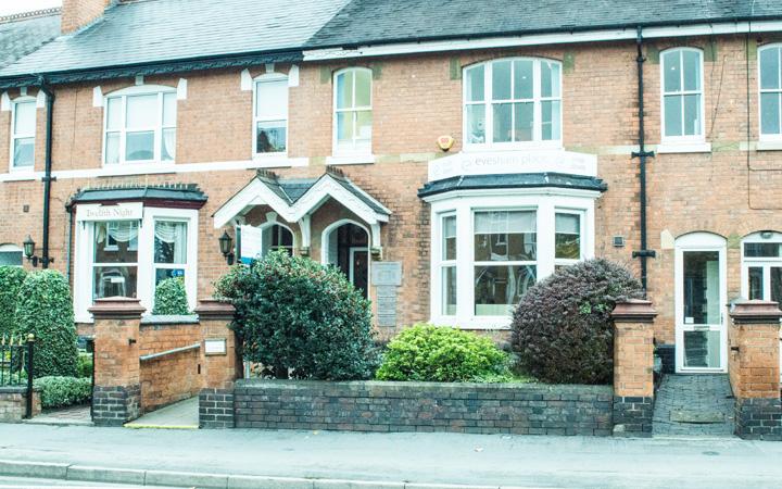 Evesham Place Dental Stratford-upon-Avon - Frontage straight on