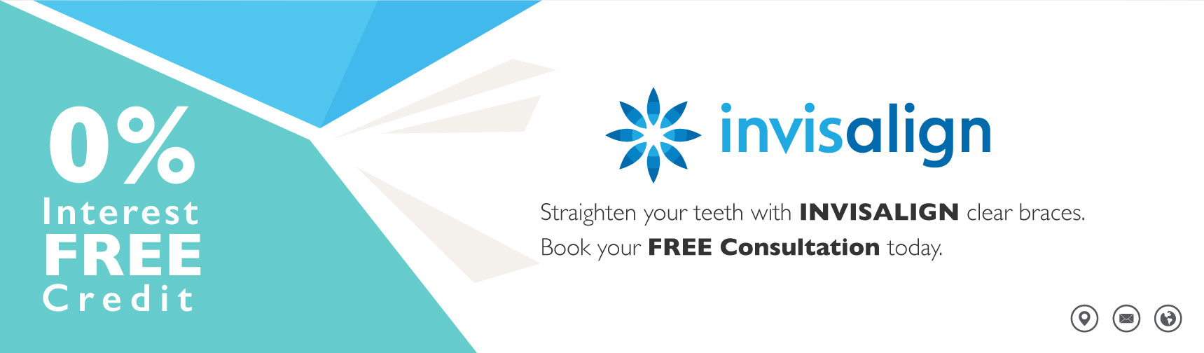 Invisalign Evesham Place Dental Banner